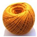 (1 metru) Snur iuta naturala portocalie 2mm
