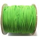 (1 metru) Snur elastic rotund verde mar 1mm