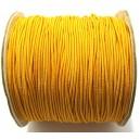 (1 metru) Snur elastic rotund portocaliu 1mm