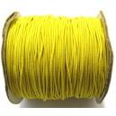 (1 metru) Snur elastic rotund galben 1mm
