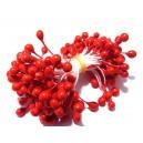 (10 buc.) Stamine rosii perlate 4-5mm