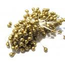 (10 buc.) Stamine bronz perlat 4-5mm