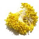 (10 buc.) Stamine galben copt perlat 3-4mm