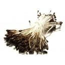 (10 buc.) Stamine maro perlat 1-2mm