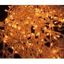 Perdea lumini turturi 240 becuri colorate galben