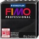 Fimo Professional black 85 grame - 8004-9