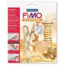 Fimo Leaf metal silver 7 bucati - 8780-81