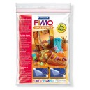 Fimo Texture sheets Croco and Leather - 8744-03