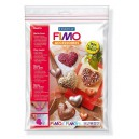 Fimo Clay mould Hearts - 8742 26