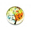 CSP20mm-A- - Cabochon sticla print copac 20mm - STOC FOARTE LIMITAT!!!