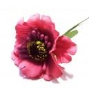 FLO13 - Anemone artificiale roz fucsia 5cm/11cm