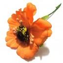 Anemone artificiale portocalii 5cm/11cm