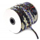 SBT4mm-07 - (1 metru) Snur bumbac tribal rotund multicolor 4mm