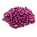 MN4mm-41 - (45 grame) Margele nisip roz fucsia 4mm