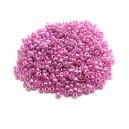 MN2mm-22 - (25 grame) Margele nisip Ceylon lila irizat 2mm