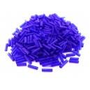 MT-14 - (19 grame) Margele nisip tub albastru cobalt 6mm