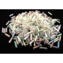 MT-27 - (19 grame) Margele nisip tub semitransparente efect AB 6mm