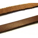 (1 metru) Snur piele naturala neagra 10mm