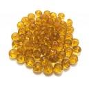 MFR356 - Rondele cristal fatetate cognac 6*4mm