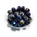 MFR376 - Cristale gri inchis efect AB rondele fatetate 14*10.5mm