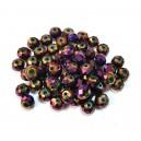 MFR379 - Cristale violet efect AB rondele fatetate 6*4mm