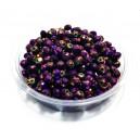 MFR379 - Cristale violet efect AB rondele fatetate 6x4mm