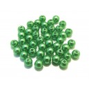DISPONIBIL 2 PACHETE - PA5mm-04 - (50 buc.) Perle acril verde 01 sfere 5mm
