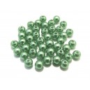 PA5mm-05 - (50 buc.) Perle acril verde 02 sfere 5mm