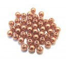 PA5mm-19 - (50 buc.) Perle acril caramel sfere 5mm