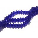 MFB562 - Cristale albastru cobalt biconice fatetate 6*3mm - STOC LIMITAT!!!