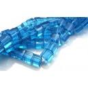 MSCUB6mm-605 - Margele sticla cub albastru 6mm - STOC LIMITAT!!!