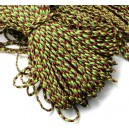 SP4mm-08  - (1 metru) Snur paracord plat multicolor 4mm