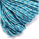 SP4mm-40  - (1 metru) Snur paracord plat bleu 4mm