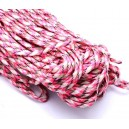 SP4mm-46  - (1 metru) Snur paracord plat multicolor 4mm
