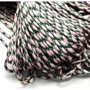 SP4mm-48  - (1 metru) Snur paracord plat multicolor 4mm