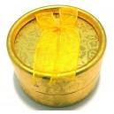 CCI-A-03 - Cutie cadou aurie pentru inel 5.5*3.5cm
