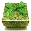 CCI-B-01 - Cutie cadou verde pentru inel 4.3*3.2cm