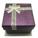 CCI-C-01 - Cutie cadou violet pentru inel 5*3.7cm