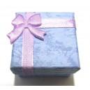 CCI-E-01 - Cutie cadou liliac pentru inel 4.1*4.1*2.6cm