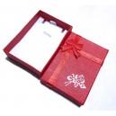 DISPONIBIL 2 BUCATI - CCC-H-04 - Cutie cadou rosie pentru colier 7*5*2cm