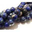 PSE180 - Regalite albastre sfere 10mm