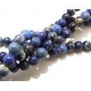 PSE182 - Regalite albastre sfere 6mm