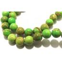 PSE193 - Regalite verde crud sfere 8mm - STOC FOARTE LIMITAT!!!
