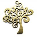 CP563 - Pandantiv copacul vietii bronz antic 42*38mm