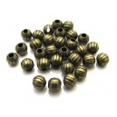 DI20-A - Distantier bronz antic 6*5mm