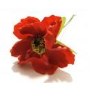 FLO22 - Anemone artificiale rosii 4-5cm/9cm