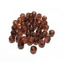 MFS617 - Cristale maro cognac sfere fatetate 6mm