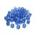 MFS619 - Cristale albastre sfere fatetate 6mm - STOC LIMITAT!!!