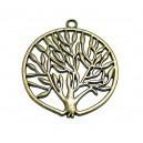 CP24 - Pandantiv copacul vietii bronz antic 47mm