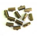 Capat organza bronz antic 13*7mm